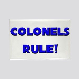 Colonels Rule! Rectangle Magnet