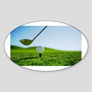 Golf Mentality Sticker