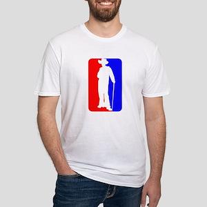 Major League Pimp Fitted T-Shirt