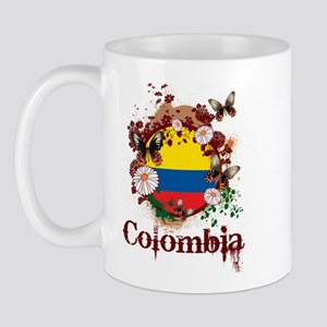 Butterfly Colombia Mug