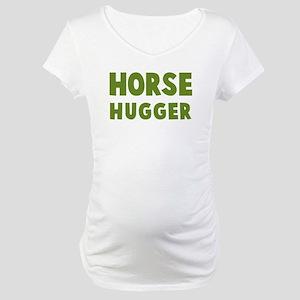 Horse Hugger Maternity T-Shirt