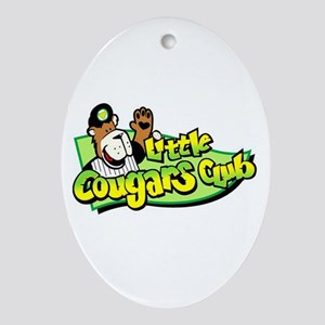 Little Cougar Club Keepsake (Oval)