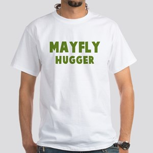 Mayfly Hugger White T-Shirt
