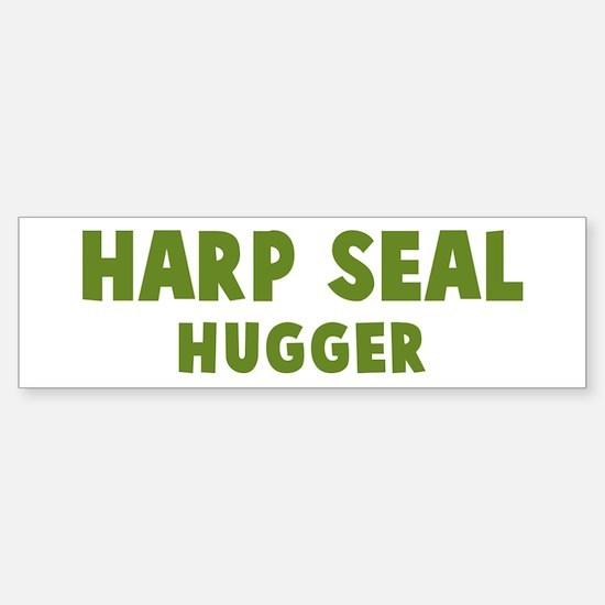 Harp Seal Hugger Bumper Bumper Bumper Sticker
