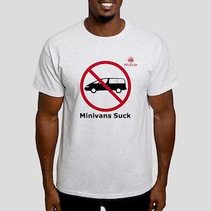 Minivans Suck - Light T-Shirt
