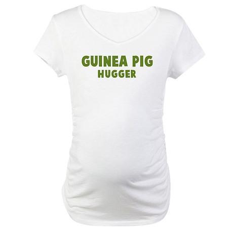 Guinea Pig Hugger Maternity T-Shirt