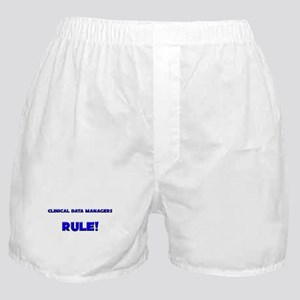 Clinical Data Managers Rule! Boxer Shorts