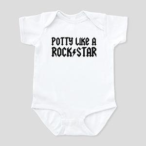 Potty Like A Rock Star Infant Bodysuit