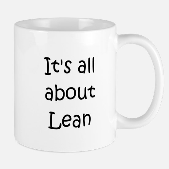 Unique Lean Mug