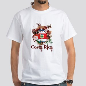 Butterfly Costa Rica White T-Shirt
