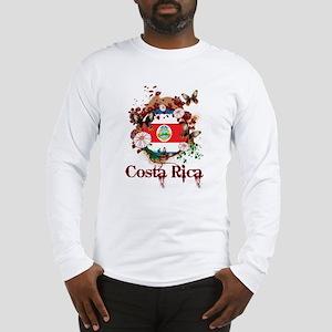 Butterfly Costa Rica Long Sleeve T-Shirt