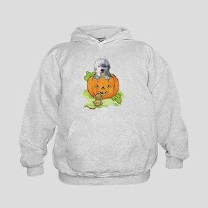 labradoodle halloween Kids Hoodie