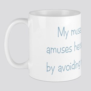 Muse Abuse Blue 4 Mug