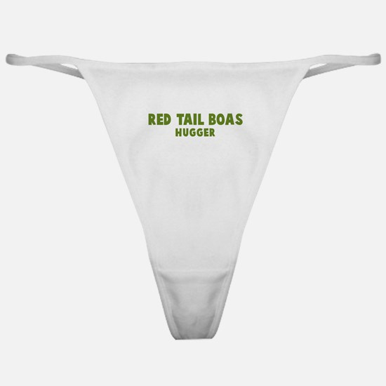 Red Tail Boas Hugger Classic Thong