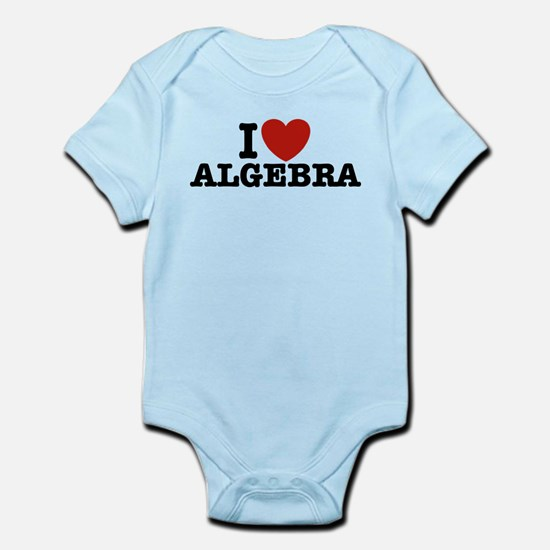 I Love Algebra Infant Bodysuit