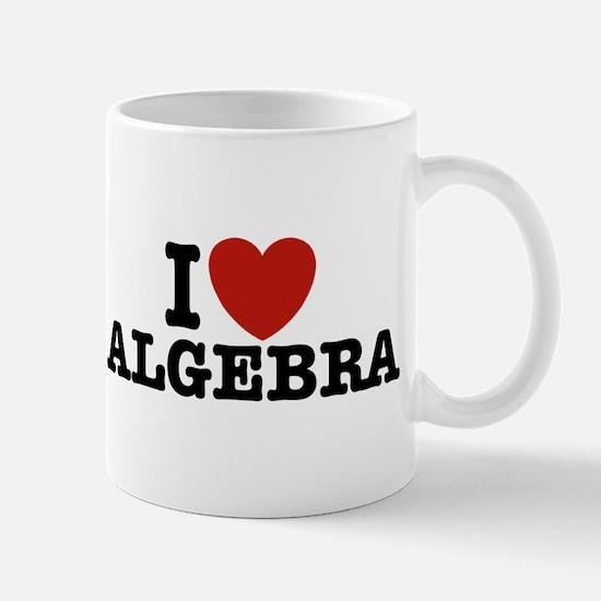 I Love Algebra Mug