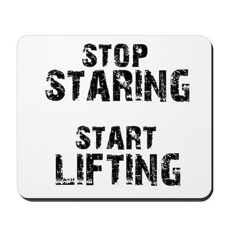 Get Start lifting Mousepad