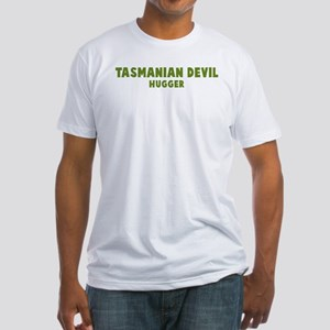 Tasmanian Devil Hugger Fitted T-Shirt