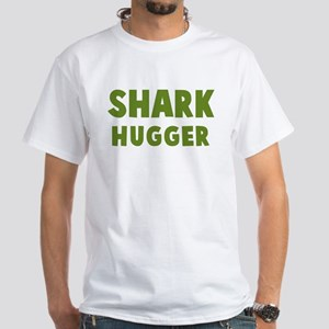 Shark Hugger White T-Shirt