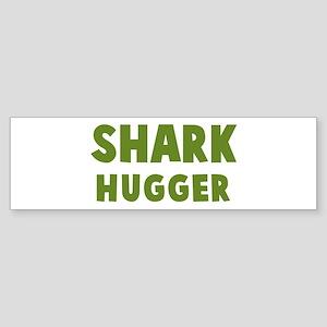 Shark Hugger Bumper Sticker