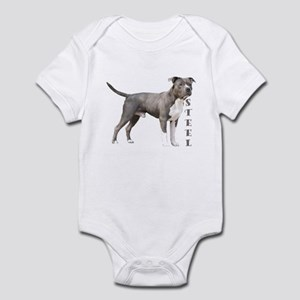 Made of Steel with a Heart O Infant Bodysuit