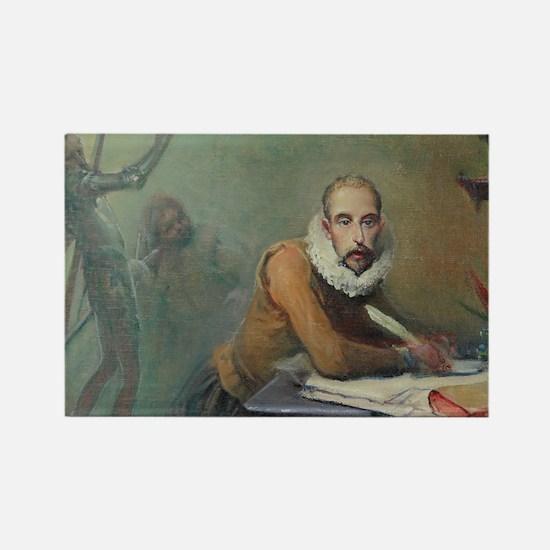 Cervantes single door Magnet