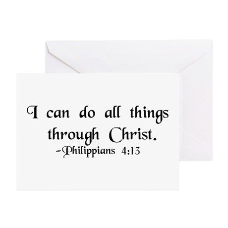 """Do All Things"" Greeting Cards (Pk of 10)"