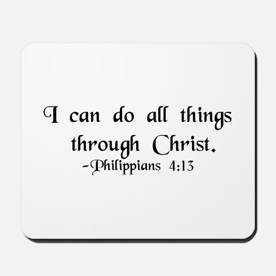"""Do All Things"" Mousepad"