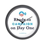 Ready to Campaign on Day 1 Wall Clock