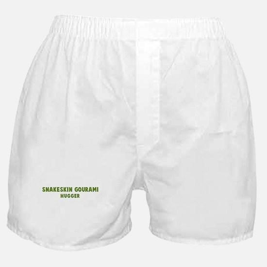 Snakeskin Gourami Hugger Boxer Shorts