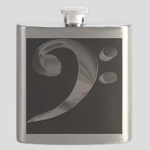 GrandRoyalBassClefDeepPlat Flask