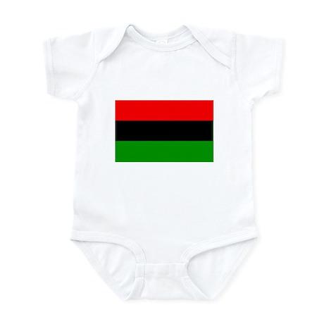 Afro American flag Infant Bodysuit