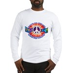 Men's Long Sleeve Peace Sign T-Shirt