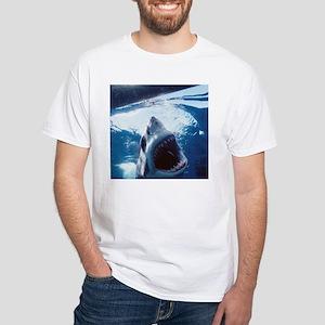 Maddened Attack White T-Shirt