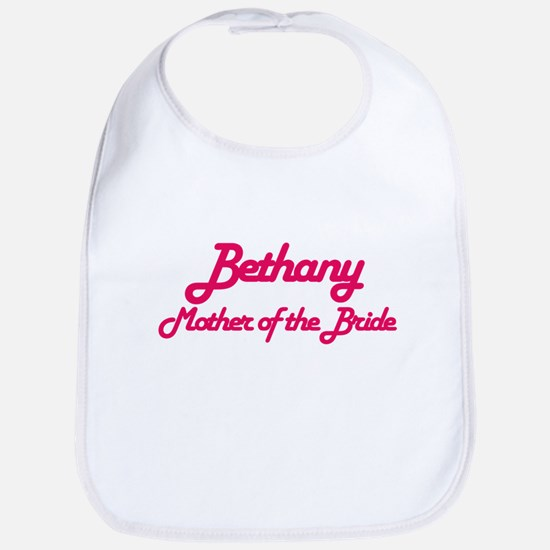 Bethany - Mother of Bride Bib