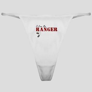 I Love My Ranger Classic Thong