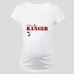 I Love My Ranger Maternity T-Shirt