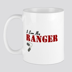 I Love My Ranger Mug