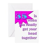 35 finally Greeting Cards (Pk of 10)