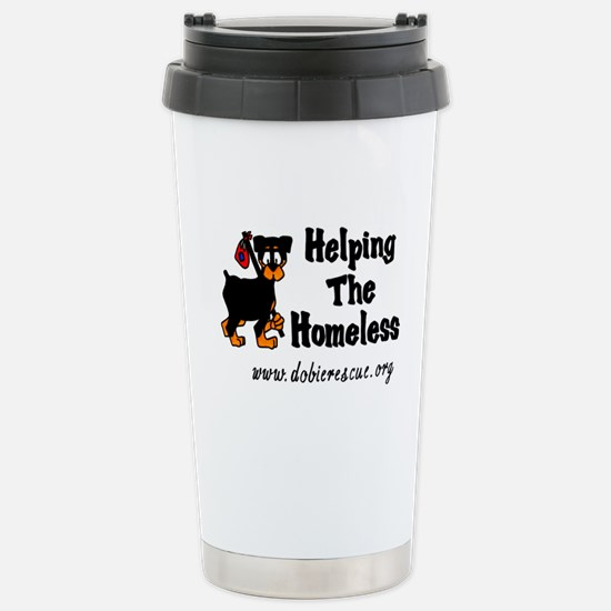 helping the homeless Stainless Steel Travel Mug