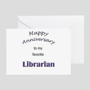 Happy Anniversary Librarian (Pk of 10)