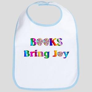 Books Bring Joy Bib
