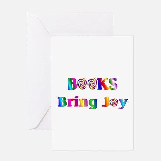 Books Bring Joy Greeting Card