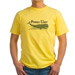 Power Moby-Dick Yellow T-Shirt