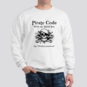 Pirate Thank You Sweatshirt
