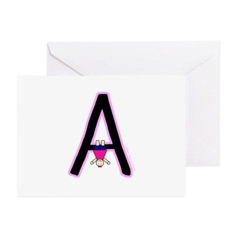 A (Girl) Greeting Cards (Pk of 20)
