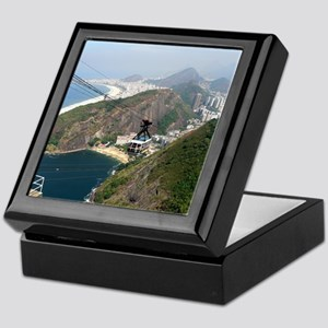 View of Rio de Janeiro Keepsake Box