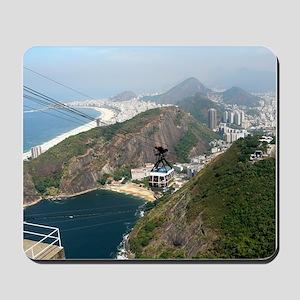 View of Rio de Janeiro Mousepad