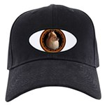 Pomeranian Dog Black Baseball Cap