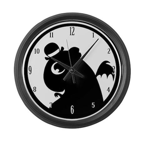 Mr. Friskett Logo Large Wall Clock